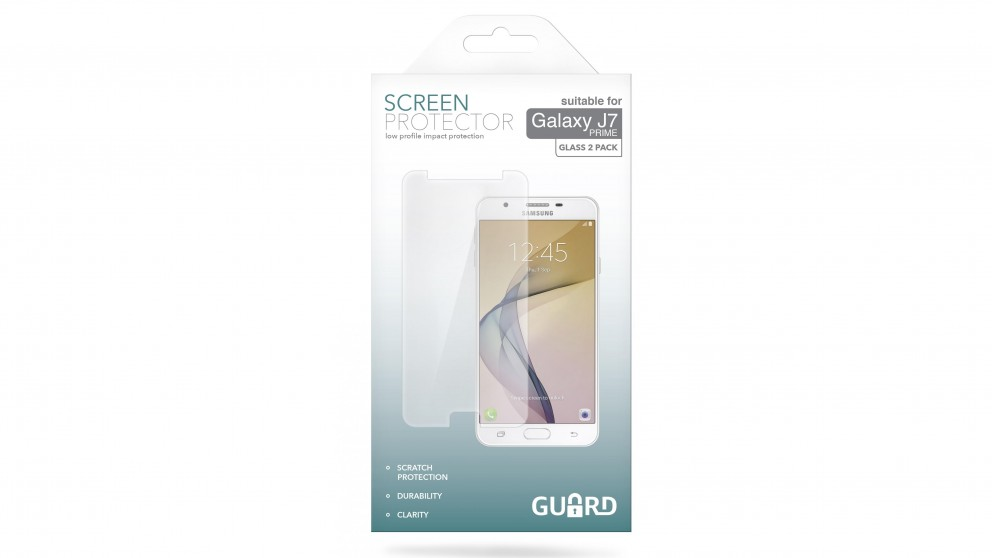 Guard Screen Protector for Samsung Galaxy J7 - 2 Pack