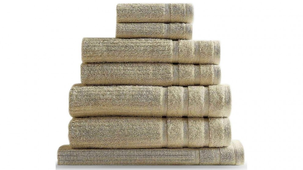 Royal Comfort Eden 8 Piece Towel Pack - Beige