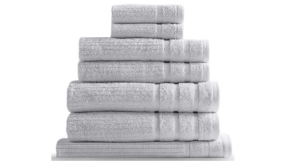 Royal Comfort Eden 8 Piece Towel Pack - Sea Holly