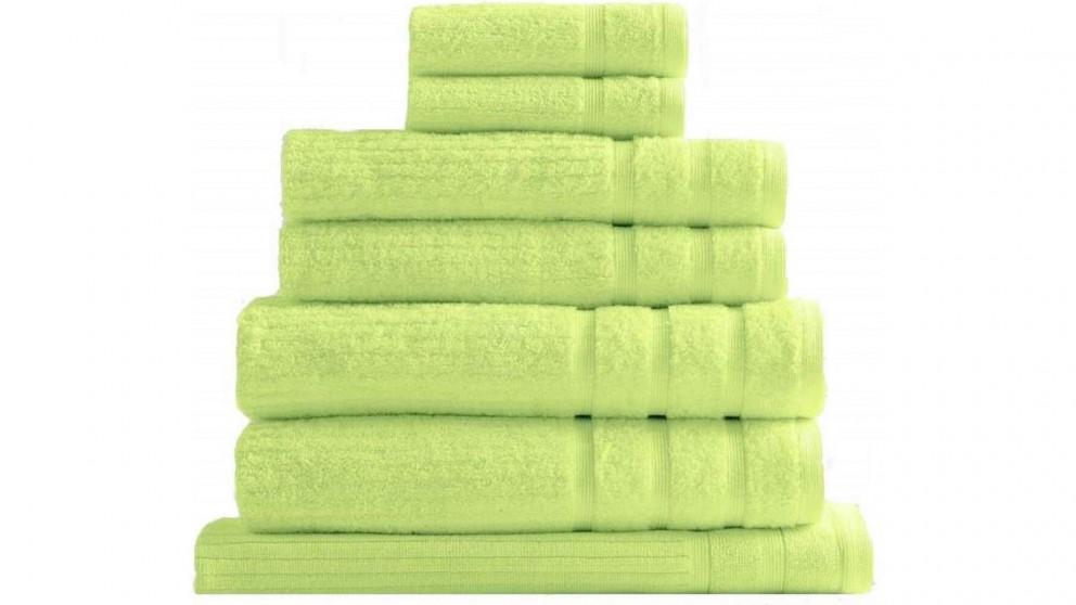 Royal Comfort Eden 8 Piece Towel Pack - Spearmint
