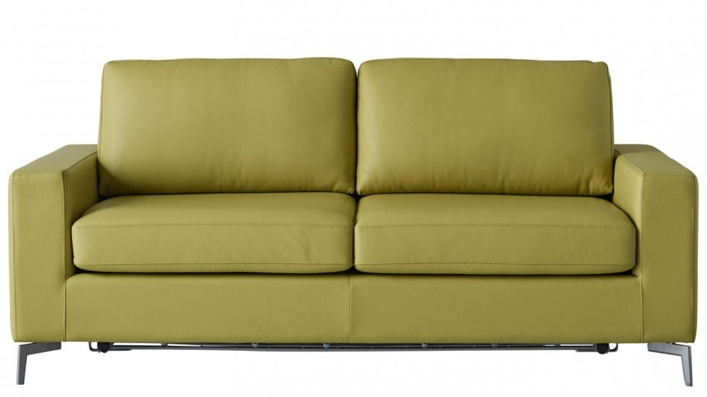 Pleasing Buy Crawford Leather Sofa Bed Harvey Norman Au Creativecarmelina Interior Chair Design Creativecarmelinacom