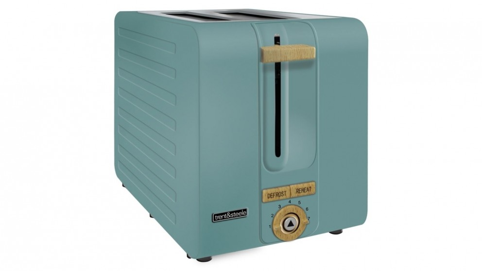 Trent and Steel 2 Slice Toaster - Teal