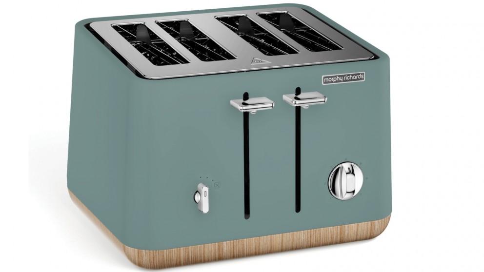Morphy Richards Scandi 4 Slice Toaster - Teal