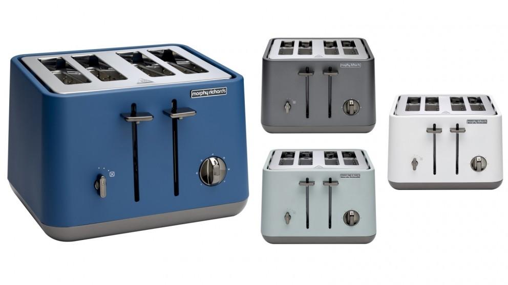 Morphy Richards Aspect Chrome Trim 4 Slice Toaster