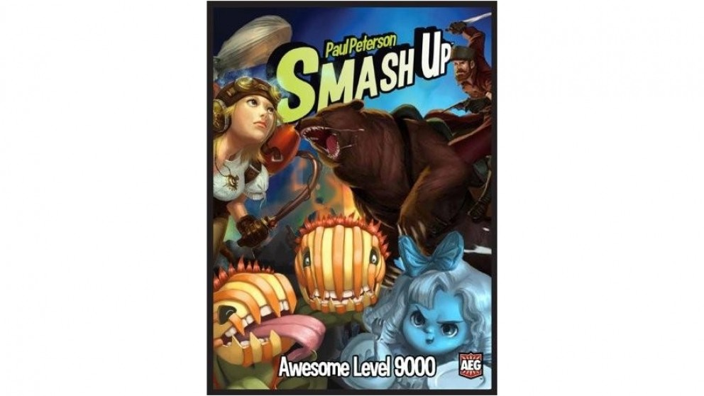 Smash Up Awesome Level 9000 Expansion Deck Building Card Game From AEG