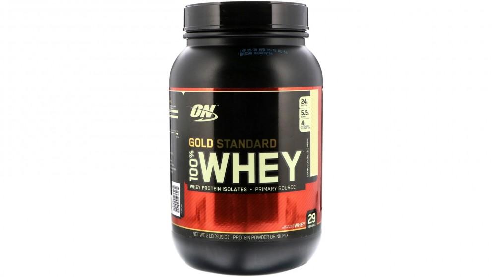 Optimum Nutrition Gold Standard 100% Whey French Vanilla - 909g