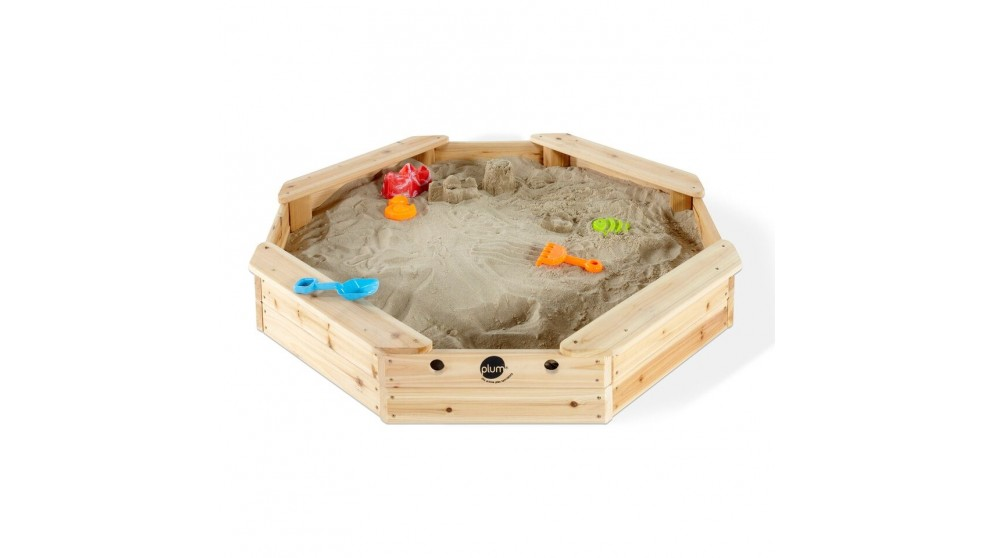 Plum Treasure Beach Wooden Sandpit