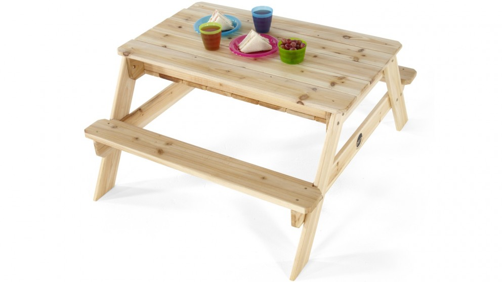 Plum Wooden Sand & Picnic Table