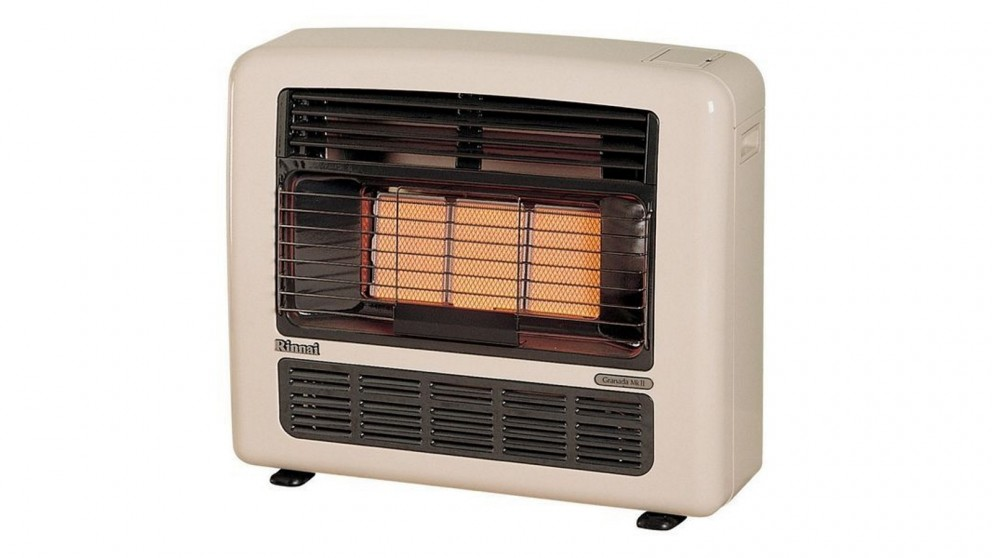 Rinnai Granada 252 Unflued Gas Radiant Convector Heater - Off White