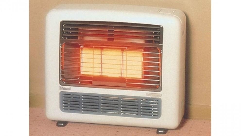 Rinnai Granada 252 Unflued LPG Radiant Convector Heater - Off White