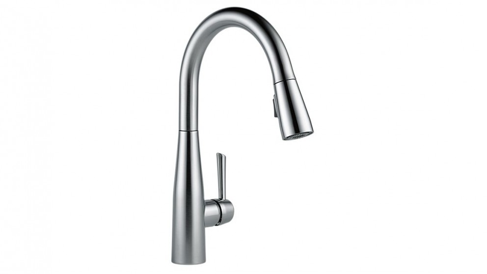 Bravat Kitchen Mixer with Pull Out Spray - Chrome