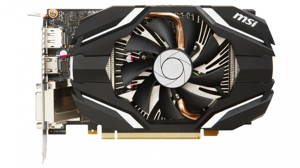 MSI NVIDIA GeForce GTX-1060 OC 3GB Graphics Card