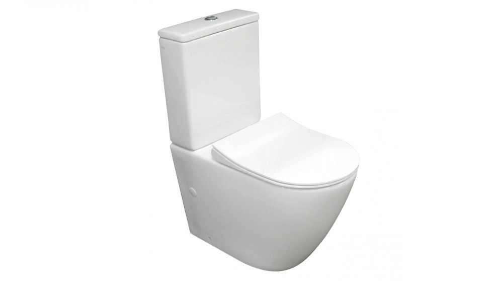 Parisi Ellisse Rimless Ambulant Back To Wall Toilet Suite