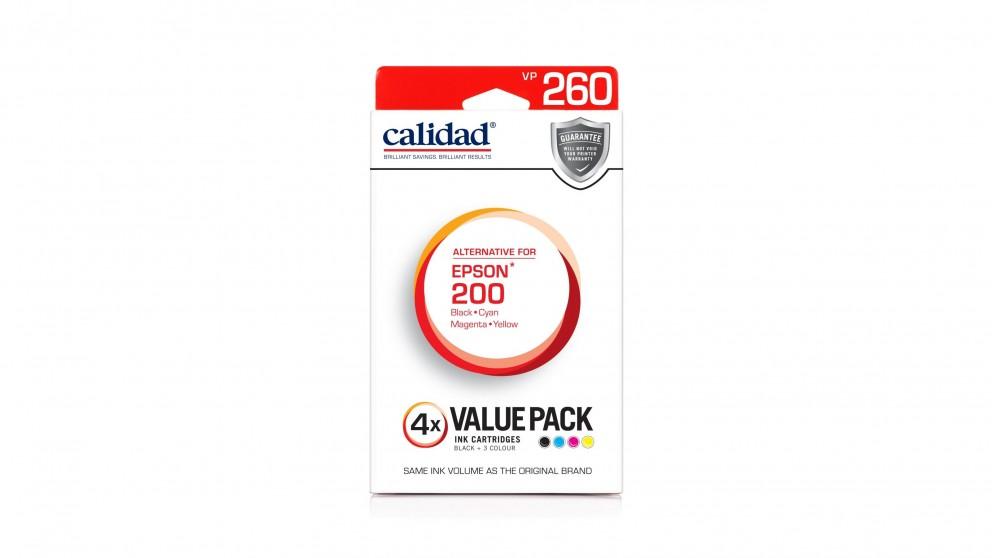 Calidad Epson 200 4-Pack Ink Catridge