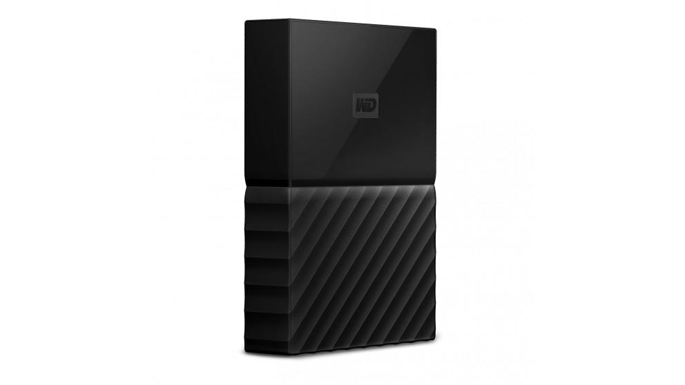 WD My Passport 2TB Portable Hard Drive - Black