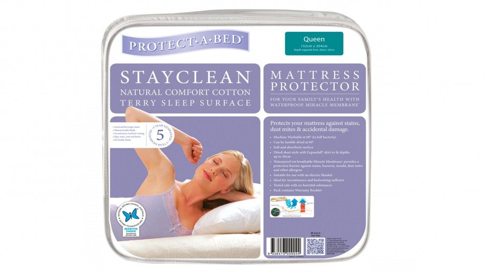 Protect A Bed StayClean Waterproof Mattress Protector