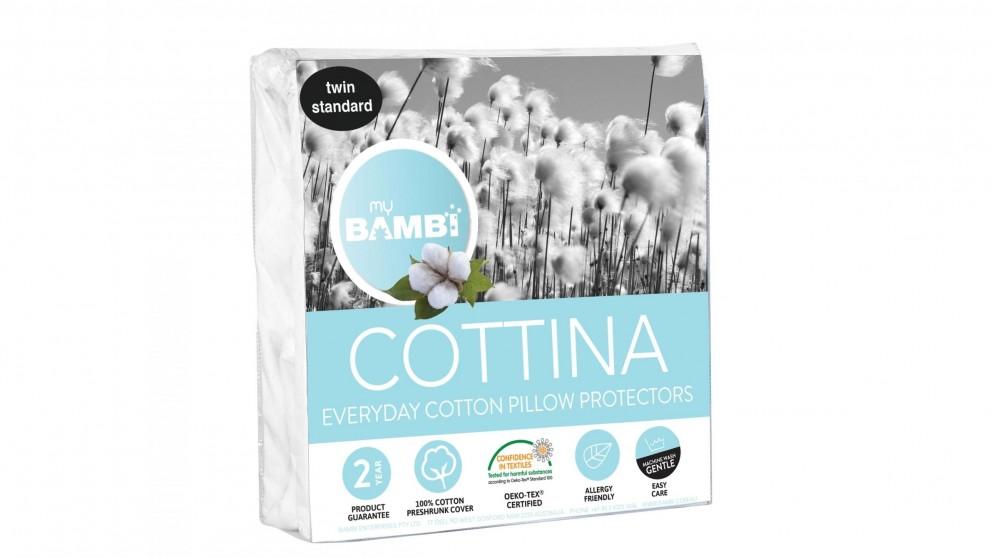 Bambi Cottina Pillow Protector Twin Pack