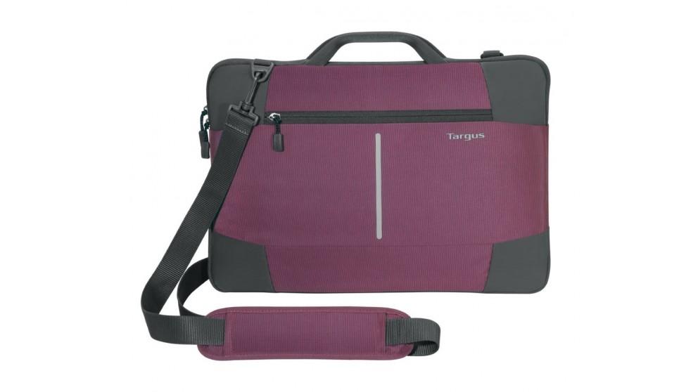 """Targus 15.6"""" Bex II Laptop Slip Case - Plum"""