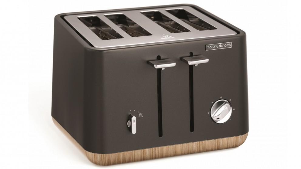 Morphy Richards Scandi 4 Slice Toaster - Titanium