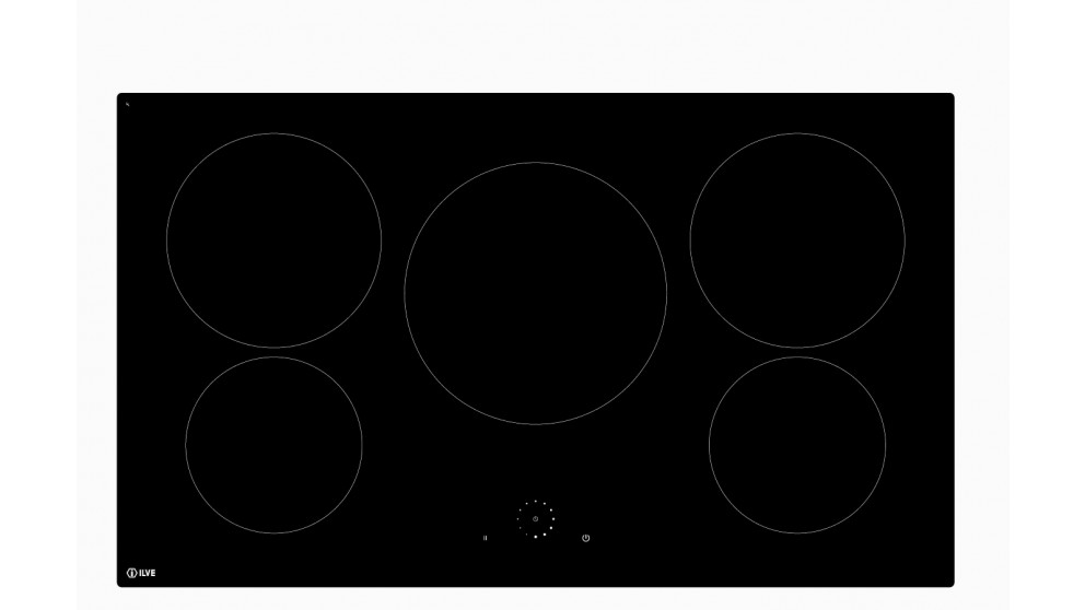 ILVE 900mm 5 Zone Induction Cooktop