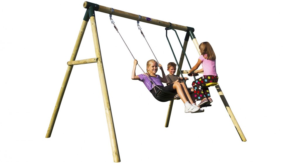 Plum Lemur Swing Set