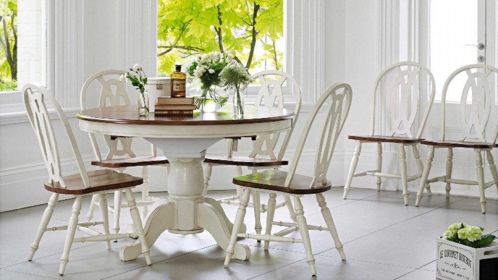 Dining Tables Chairs Glass Round Extendable Dining Tables