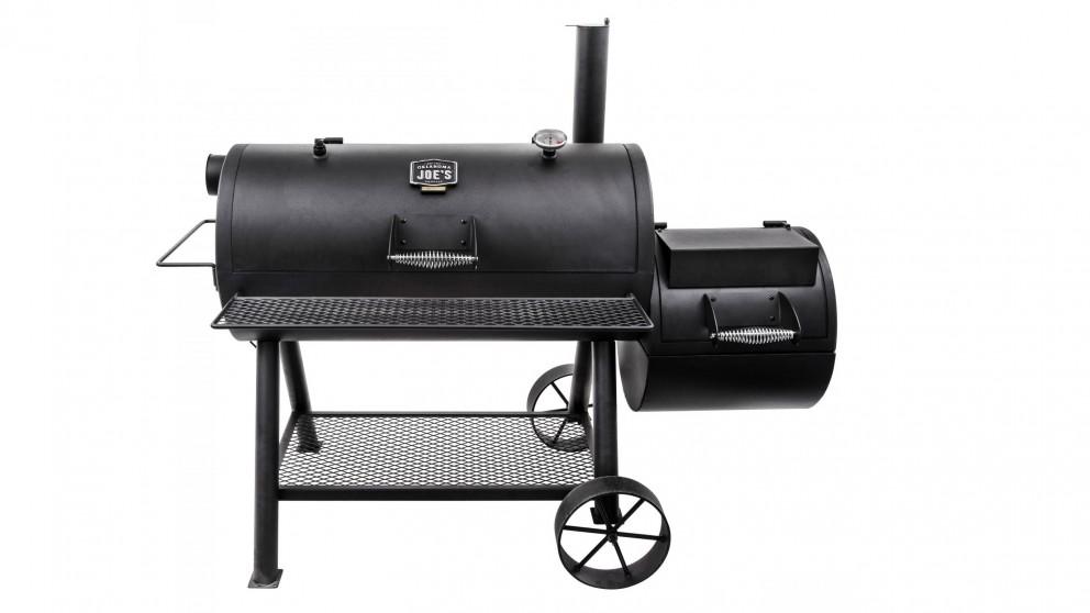 Oklahoma Joe Longhorn Reverse Flow Charcoal Smoker