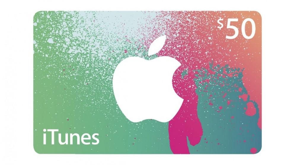 Buy Itunes Card 50 Harvey Norman Au
