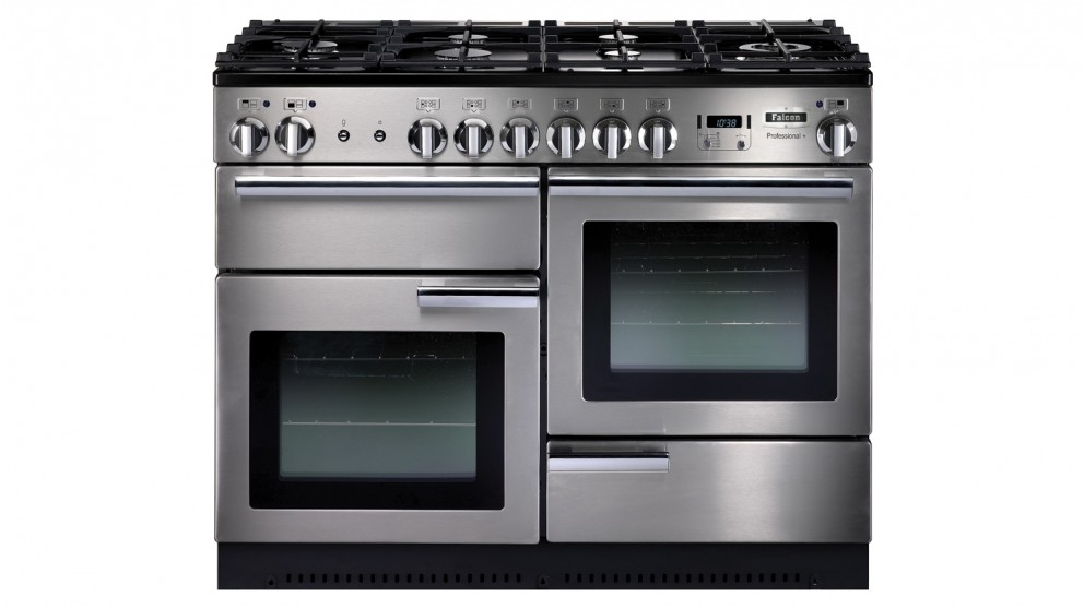 Falcon Professional+ 1100mm Dual Fuel Freestanding Cooker - Stainless Steel
