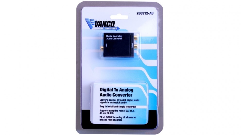 Vanco Digital to Analogue Audio Converter