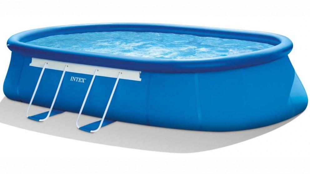 "Intex 20' x 12' x 48"" Oval Frame Pool"