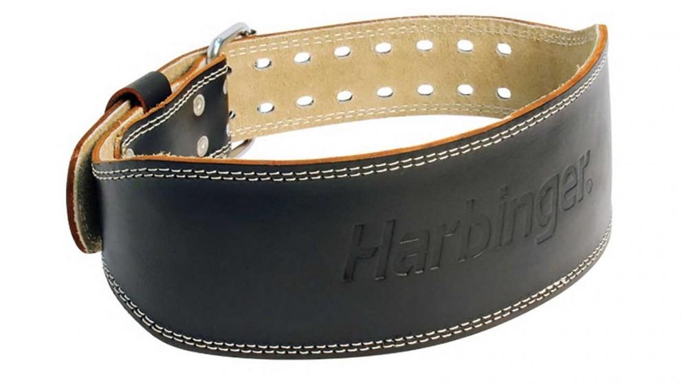 Harbinger 4-inch Padded Leather Black Belt - Extra Large