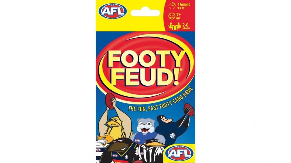 AFL Footy Feud Card Game