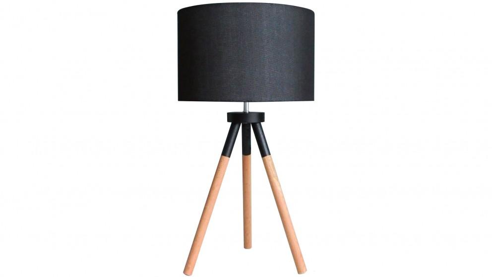 Apostle Black Bedside Lamp
