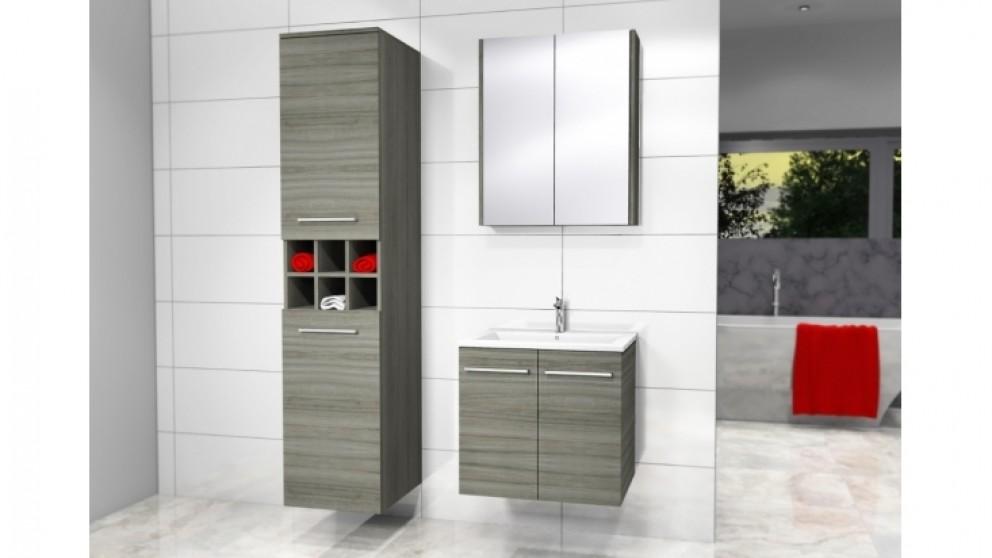 Timberline austin 600mm wall hung vanity bathroom for Bathroom cabinets harvey norman