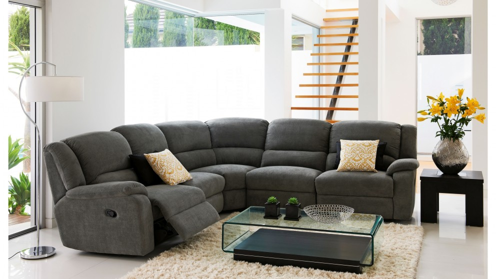 Marshall Fabric Modular Recliner Lounge