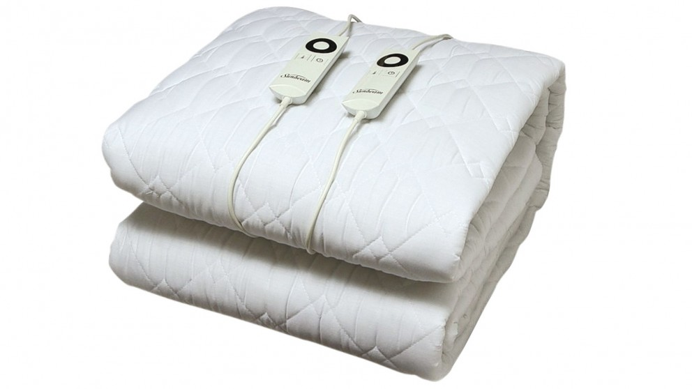 Sunbeam Sleep Perfect Quilted Electric Blanket - Queen Bed