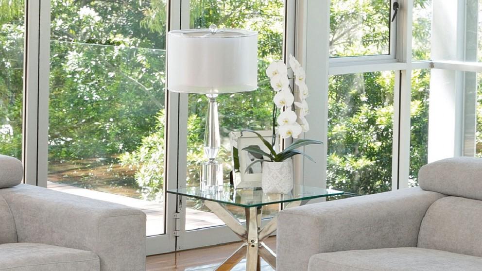 Buy ada sheer shade crystal table lamp harvey norman au special price 329 aloadofball Gallery