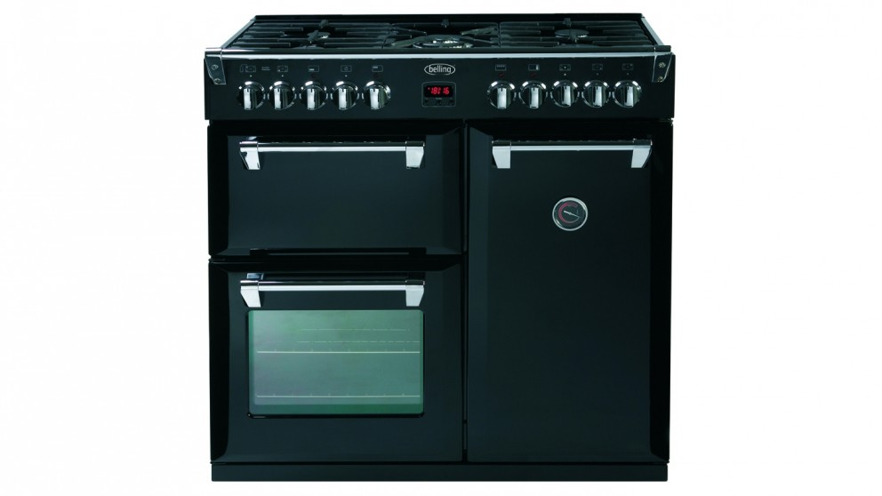 Belling 900mm Richmond Dual Fuel Range Cooker - Black