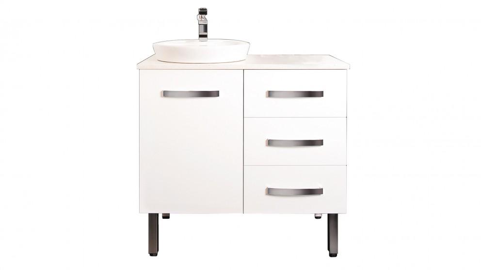 Ledin Zanetti 900mm Vanity - White