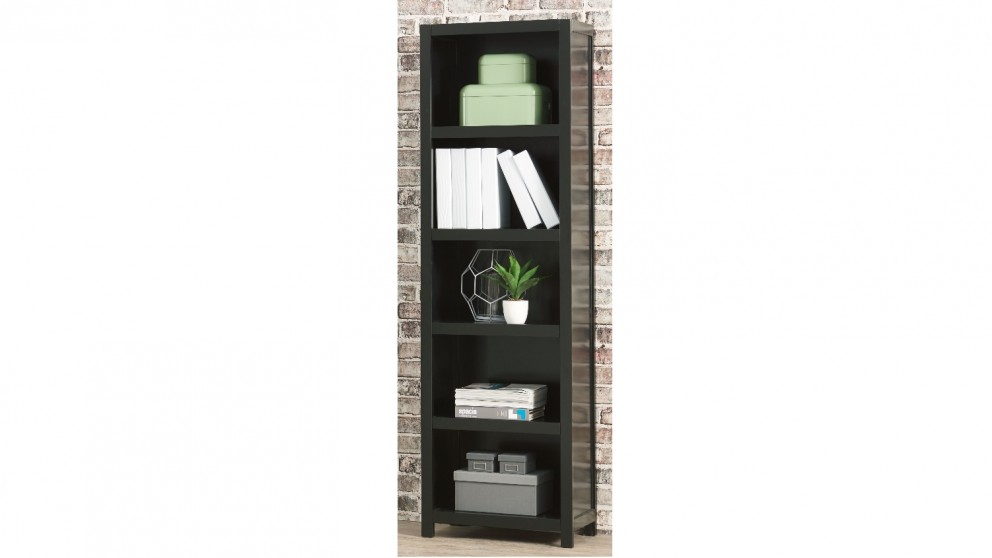 Aston 600mm 5 Tier Bookcase