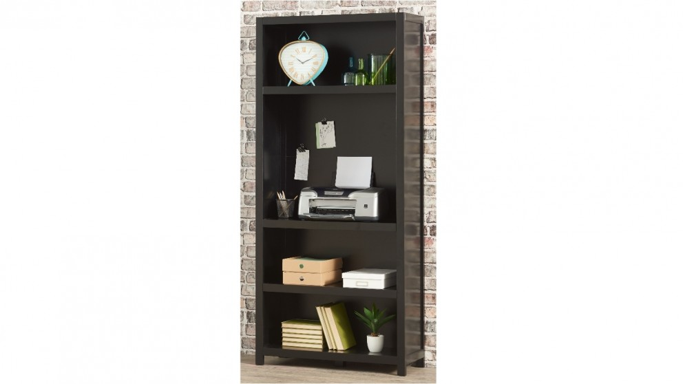 Aston 900mm 5 Tier Bookcase