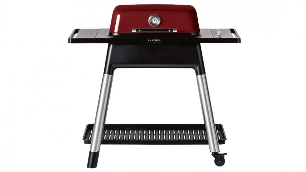 Everdure by Heston Blumenthal FORCE 2 Burner Gas BBQ with Stand - Red
