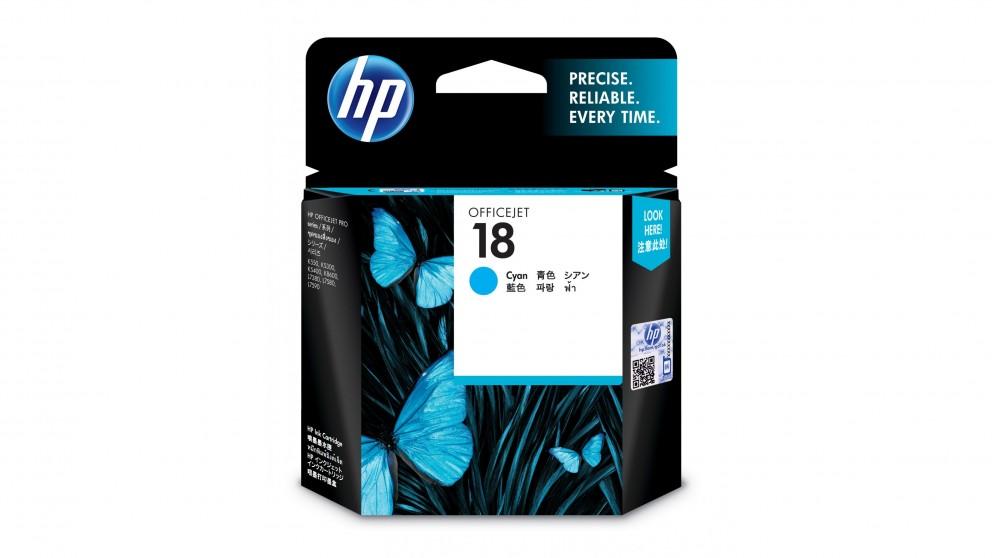 HP 18 Ink Cartridge - Cyan