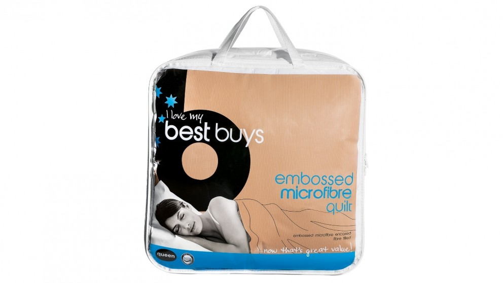 Best Buys Microfibre Quilt