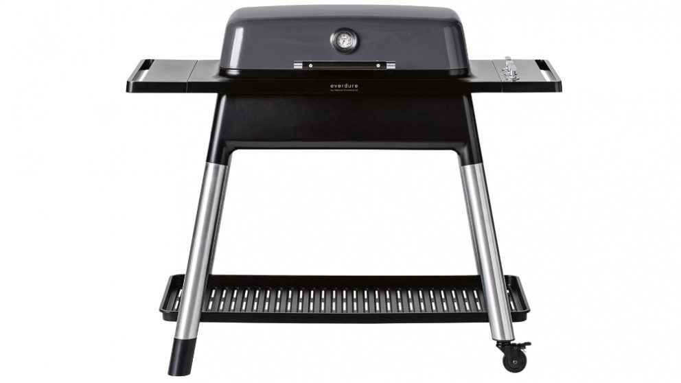 Everdure by Heston Blumenthal FURNACE 3 Burner Gas BBQ with Stand - Graphite