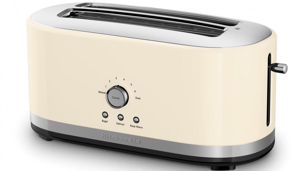 kitchenaid 4 slice long slot toaster review