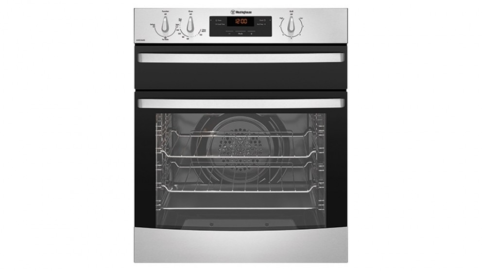 Westinghouse 600mm Fan Forced Natural Gas Oven - Stainless Steel