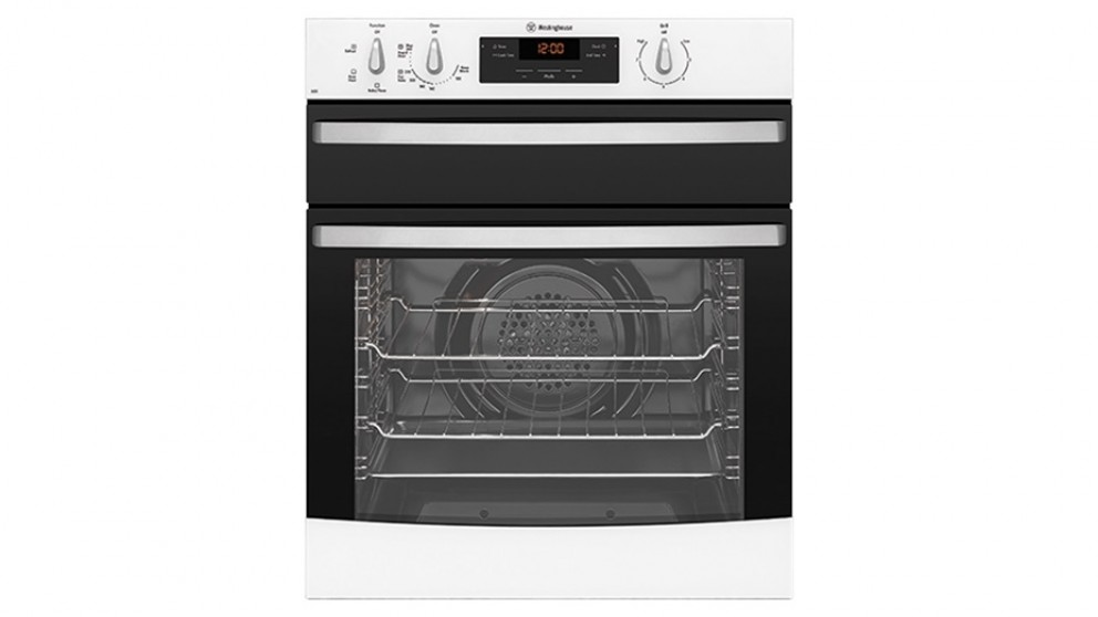 Westinghouse 600mm Fan Forced Natural Gas Oven - White