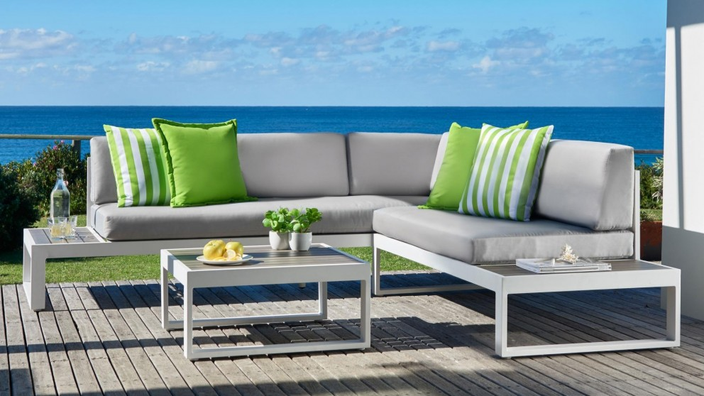 Lovely Begonia 3 Piece Modular Outdoor Lounge Setting Part 27